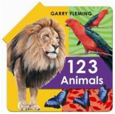 123 Animal Fold Out Book