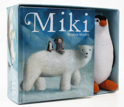 Miki Box Set (Book and Plush)