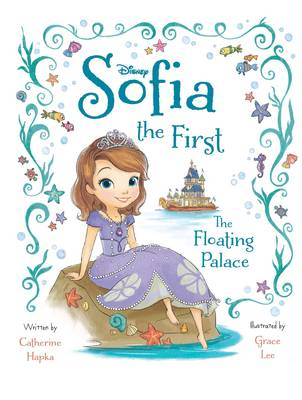 Disney Sofia the First the Floating Palace Deluxe Picture Book