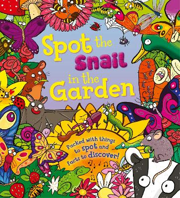 Spot the Snail in the Garden