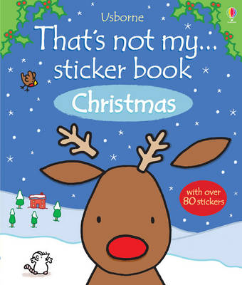 That's Not My Sticker Book: Christmas