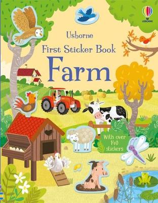 First Sticker Book Farm