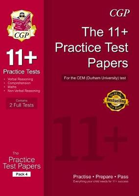 11+ Practice Papers for the CEM Test - Pack 4