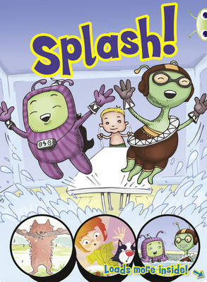 Bug Club Yellow/1C Comic: Splash 6-pack