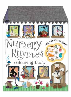 Nursery Rhymes Colouring Book (Newsprint)