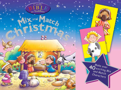 Candle Bible for Toddlers Christmas Mix and Match