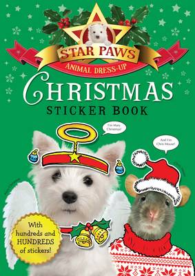 Christmas Sticker Book: Star Paws: An animal dress-up sticker book