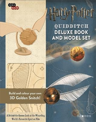 IncrediBuilds: Quidditch: Deluxe Book and Model Set