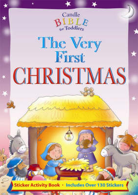 The Very First Christmas: Sticker Fun