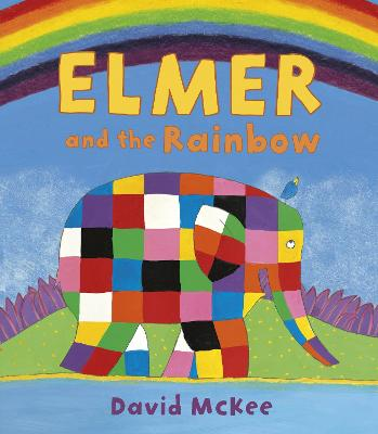 Elmer and the Rainbow: Board Book