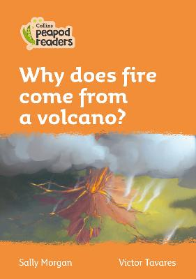 Level 4 - Why does fire come from a volcano?