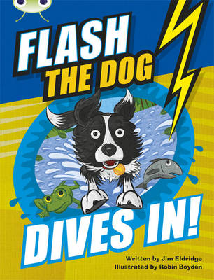 Bug Club Brown B/3B Flash the Dog Dives In! 6-pack