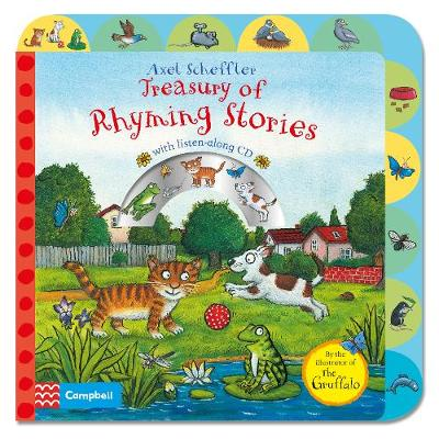 Treasury of Rhyming Stories Book and CD