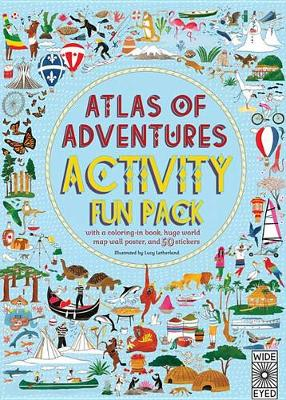 Adventures Activity Fun Pack (Us): With a Coloring-in Book, Huge World Map Wall Poster, and 50 Stickers