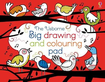 Big Drawing, Dooling and Colouring tear-off Pad