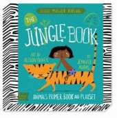The Jungle Book: Animals Primer Board Book and Playset