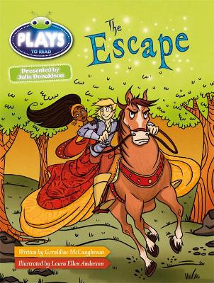 Julia Donaldson Plays White/2A The Escape 6-pack