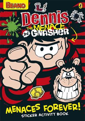 Dennis the Menace: Menaces Forever! Sticker Activity Book
