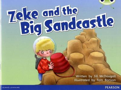 Bug Club Blue B (KS1) Zeke and the Big Sandcastle 6-pack