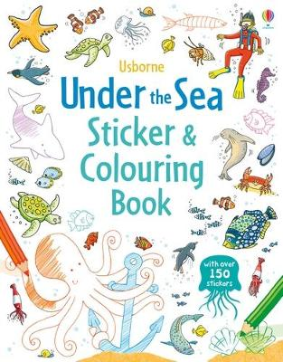 Under the Sea Sticker and Colouring Book