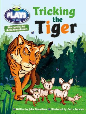Julia Donaldson Plays Turq/1B Tricking the Tiger 6-pack