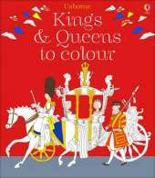 Kings and Queens Colouring Book
