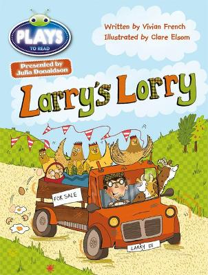 Julia Donaldson Plays Green/1B Larry's Lorry 6-pack