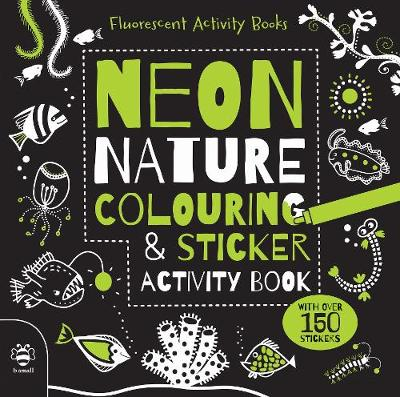 Neon Nature Colouring & Sticker Activity Book