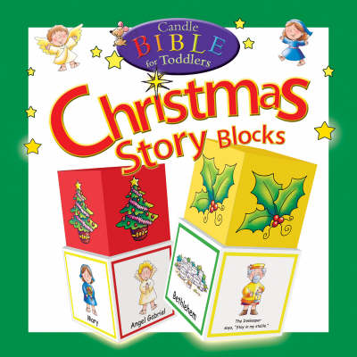 Candle Bible for Toddlers Christmas Story Blocks