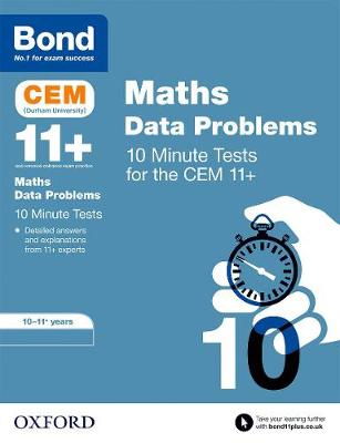 Bond 11+: CEM Maths Data 10 Minute Tests: 10-11 Years