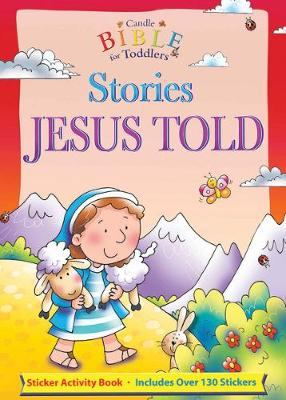 Stories Jesus Told: Sticker Activity Book