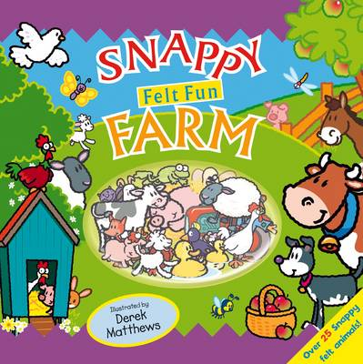 Snappy Felt Fun: Farm