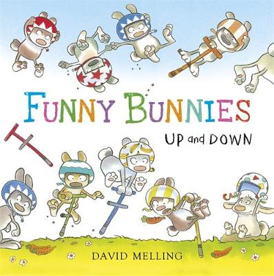 Funny Bunnies: Up and Down Board Book