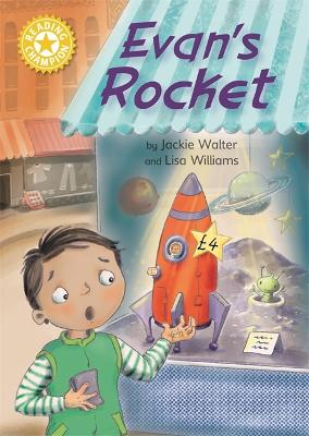 Reading Champion: Evan's Rocket: Independent Reading Yellow 3