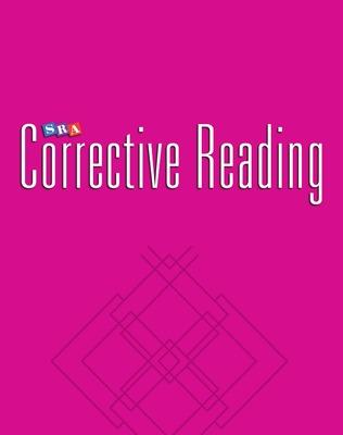All the Corrective Reading Decoding Series Books in Order