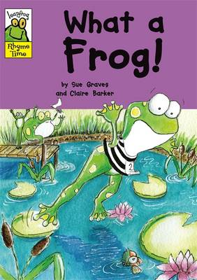 Leapfrog Rhyme Time: What a Frog!