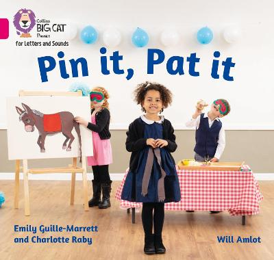 Pin it, Pat it: Band 01a/Pink a