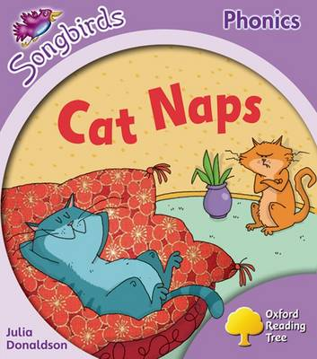 Oxford Reading Tree: Level 1+: More Songbirds Phonics: Cat Naps