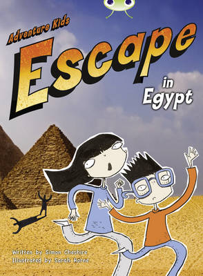 Bug Club Orange B/1B Adventure Kids: Escape in Egypt 6-pack