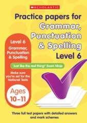 Grammar,Punctuation and Spelling Test Level 6