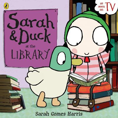 Sarah and Duck at the Library