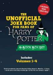 The Unofficial Harry Potter Joke Book 4-Book Box Set: Includes Great Guffaws for Gryffindor, Stupefying Shenanigans for Slytherin, Howling Hilarity for Hufflepuff, and Raucous Jokes and Riddikulus Riddles for Ravenclaw!