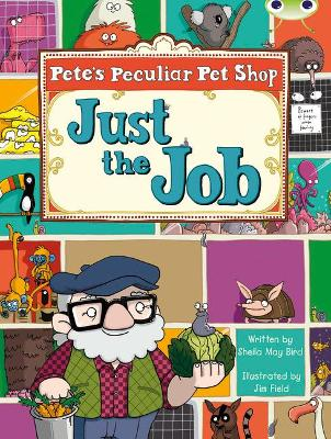Bug Club Turquoise B/1A Pete's Peculiar Pet Shop: Just the Job 6-pack