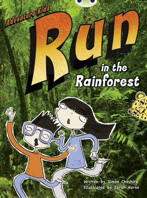 BC Turquoise A/1A Adventure Kids: Run in the Rainforest: Run in the Rainforest 6-pack