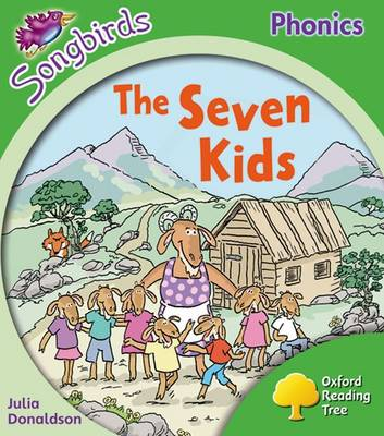 Oxford Reading Tree: Level 2: More Songbirds Phonics: The Seven Kids