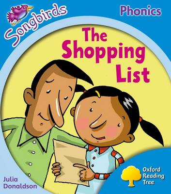 Oxford Reading Tree Songbirds Phonics: Level 3: The Shopping List