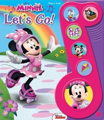 "Minnie ""Let's Go!"" Little Music Note Book"
