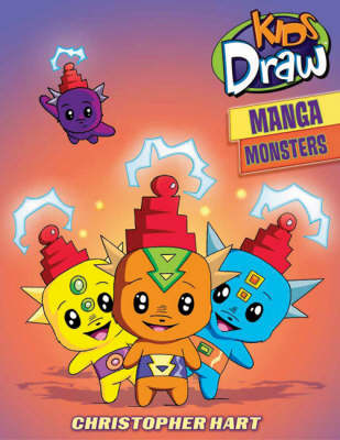 Kids Draw Manga Monsters