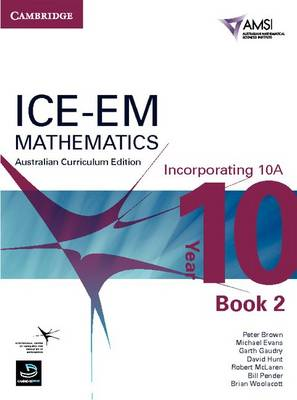 ICE-EM Mathematics Australian Curriculum Edition Year 10 Incorporating 10A Book 2