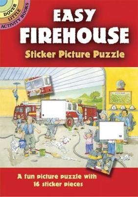 Easy Firehouse Sticker Picture Puzzle